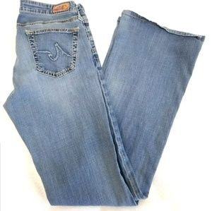 AG Adriano Goldschmied Lowrise Bootcut Jeans 28x31